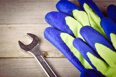 修理或大厦工具 图库摄影