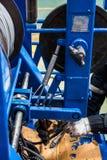 修理机器 免版税图库摄影