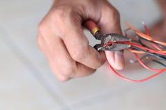 修理电子设施,版本11 免版税图库摄影