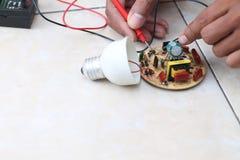 修理电子设施,版本19 免版税库存照片
