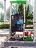 修理维护燃料管地铁站表面 免版税库存图片