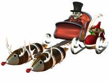 修理s圣诞老人小组 皇族释放例证