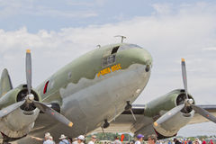 修补破铜铁者佳丽C-46 免版税库存照片
