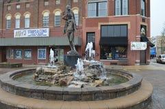 修造和历史的喷泉 库存照片