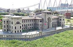修造在伊斯坦布尔的状态 免版税图库摄影