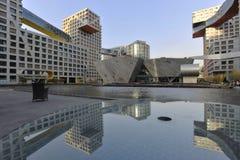 修造在北京的摩顿 库存图片