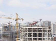 修造城市在伊斯坦布尔 免版税库存图片