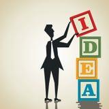 修造新的想法 免版税图库摄影