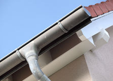 修造显示屋顶细节 免版税库存图片