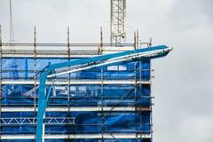 修造的进展126 在47 Beane St戈斯福德 2018年9月 免版税库存图片