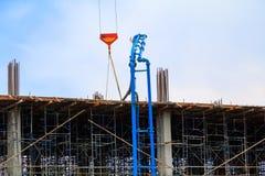 修造的高站点工作场所工作建筑 免版税图库摄影