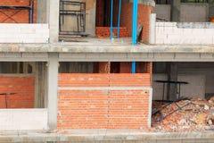 修造的高站点工作场所工作建筑 库存图片