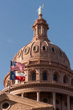 修造蓝天的资本修造的奥斯汀得克萨斯政府 免版税图库摄影
