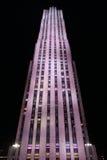 30修造洛克菲勒中心,纽约的岩石 免版税库存图片