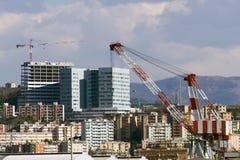 修造建设中 免版税图库摄影