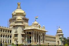 修造Bengaluru,印度的政府 免版税库存图片