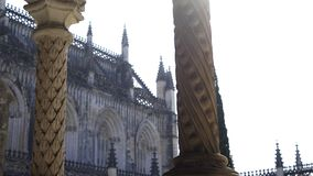 修道院专栏和塔  影视素材