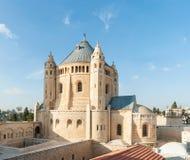 修道院亚美尼亚城市dormition耶路撒冷老季度 免版税库存图片