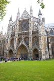 修道院伦敦威斯敏斯特 免版税图库摄影
