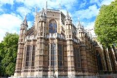 修道院伦敦英国威斯敏斯特 库存照片