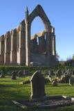修道院伯勒屯山谷英国约克夏 免版税库存图片