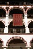 修道院几个大阳台 免版税库存图片