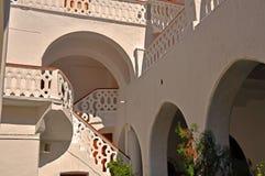 修道院台阶 库存图片