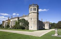 修道院国家(地区)创建了狐狸家庭房子lacock中世纪老摄影先驱talbot 免版税库存图片