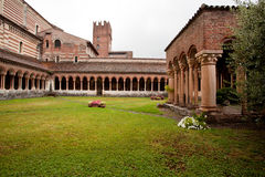 修道院圣・季诺 免版税库存照片