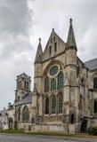 修道院圣徒Leger,苏瓦松,法国 图库摄影