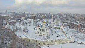 修道院在冬天 股票录像