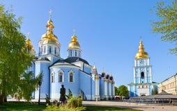 修道院在基辅 免版税库存图片
