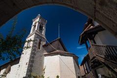 修道院在塞浦路斯 免版税库存图片