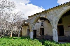 修道院在塞浦路斯 免版税库存照片