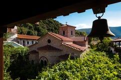 修道院在希腊 库存图片
