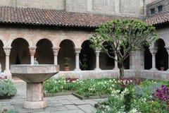 修道院在纽约 免版税库存照片