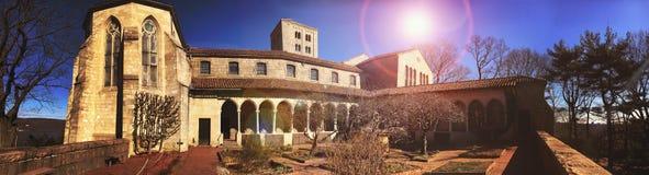 修道院在纽约 免版税库存图片