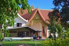 修道院在老挝 库存照片