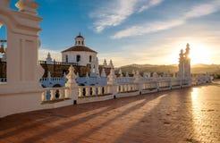 修道院在苏克雷,玻利维亚 图库摄影