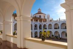 修道院在苏克雷,玻利维亚 免版税库存图片