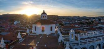 修道院在苏克雷,玻利维亚 库存照片