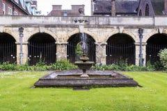 修道院在西敏寺,伦敦 库存图片