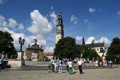 修道院在琴斯托霍瓦 免版税库存图片