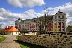 修道院在Broumov,捷克 免版税库存图片