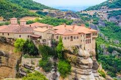 修道院在Meteora 库存图片