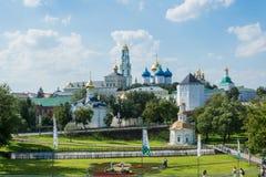 修道院在Sergiev Posad 免版税库存图片