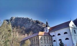 修道院在Svaty 1月 免版税库存图片