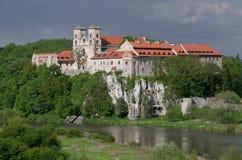 修道院在Tyniec 库存照片
