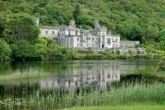 修道院城堡高尔韦爱尔兰kylemore 库存图片