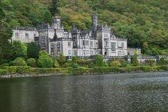 修道院城堡高尔韦爱尔兰kylemore 免版税库存照片